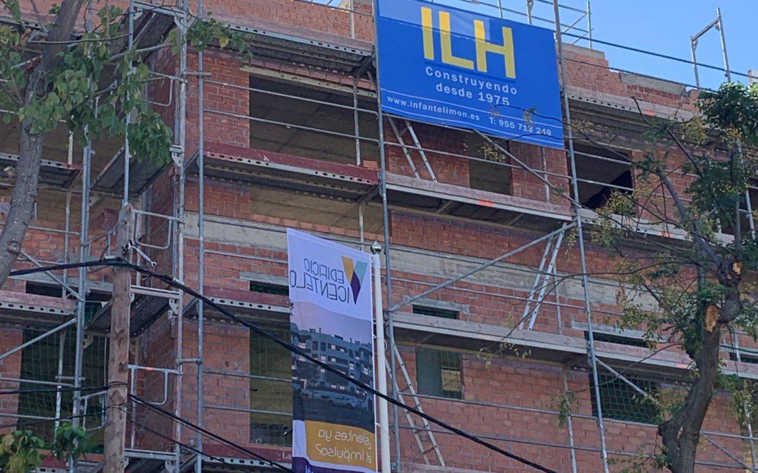 Puesta de Bandera Edificio Vicentelo